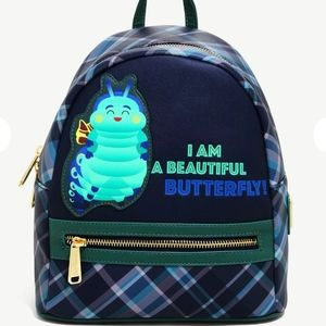 NWT Loungefly A Bug's Life Mini Backpack